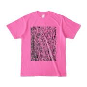 Tシャツ ピンク MOKUME-MOKUME