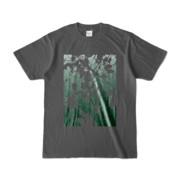 Tシャツ チャコール PLANT_GREEN