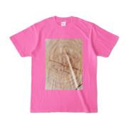Tシャツ ピンク SIMPLE-STUMP