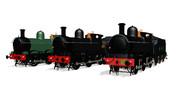 [MMDモデル配布]GWR 2301 class 蒸気機関車