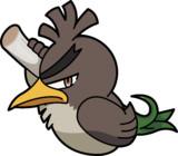 カモネギ(ガラルのすがた)ポケとる・トローゼ風アイコン