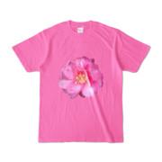 Tシャツ ピンク BIG花