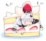 ショートケーキあかり。