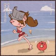 龍驤ちゃんと浮輪さんと海と