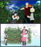 【MMD】トマト畑セット