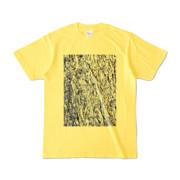 Tシャツ イエロー MOKUME-MOKUME