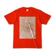 Tシャツ レッド SIMPLE-STUMP