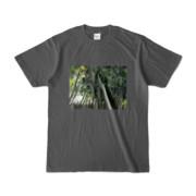 Tシャツ チャコール Photo-Bure-Nature