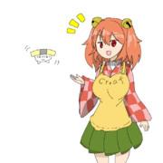 くりーふ姉貴と玉子寿司くん