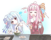 るけさんの「葵ちゃんの雑のみシリーズ」支援絵です!
