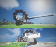 #Minecraft 25mmX電磁単装機銃 #JointBlock