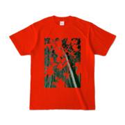 Tシャツ レッド PLANT_GREEN