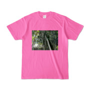 Tシャツ ピンク Photo-Bure-Nature