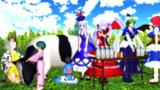 【第12回東方ニコ童祭】乳搾り体験