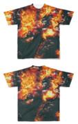 Tシャツ フルグラフィック ダークソース