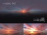 [HDR形式あり] ++skies; 042 [16k8k~8k4kスカイドーム素材配布]