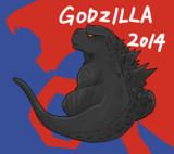 ゴジラ2014