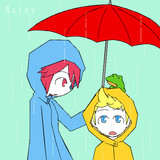 MOTHERシリーズワンドロ(お題:梅雨)