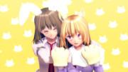 【第12回東方ニコ童祭】ウサギレンコとライオンメリー【ED絵募集】