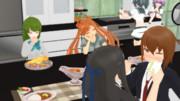 【MMD艦これ】キスカ組のカレー会食作戦