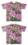 Tシャツ フルグラフィック 花魚