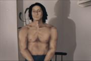 肉体をカイロ・レンに近づけた顔が変な人