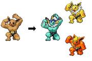 あなたはどれに進化させる?
