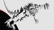 ゴジラの骨:フィギュア風MMDゴジラ大図鑑89
