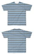Tシャツ フルグラフィック 海ボーダー