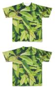 Tシャツ フルグラフィック 自然な植物