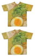 Tシャツ フルグラフィック 玉子とラーメン