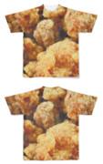 Tシャツ フルグラフィック カリカリ皮