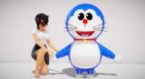 【MMDモデル配布】ネコロボット