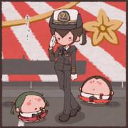 制服modeの加賀さんと赤城さんと瑞鶴