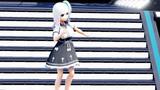 【MMD】VRoid Victoria Rubin ヴィクトリア・ルービン 白黒ワンピース2