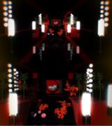 【MMD】提灯回廊【期間限定ステージ配布】