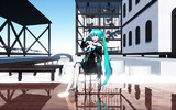 【MMDステージ配布】Water house