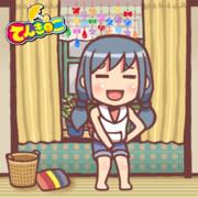 【GIFアニメ】ウルトラリラックス陽菜さん