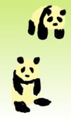パンダのパンパンとダンダン