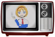 テレビを通じてICG姉貴を勧誘するTIS姉貴