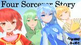 【20夏MMDふぇすと展覧会】Four Sorcerer Story(仮)