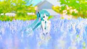 ラベンダー畑_Rellustration