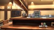 【背景】居酒屋カウンター
