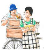 買い物はマイバッグ持参で。