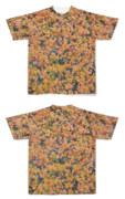 Tシャツ フルグラフィック 秋の生垣
