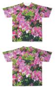 Tシャツ フルグラフィック 優雅植物