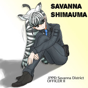 サバンナシマウマ