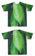 Tシャツ フルグラフィック グリーンHAPPA