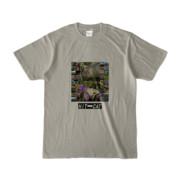 Tシャツ シルバーグレー HIT&CAT