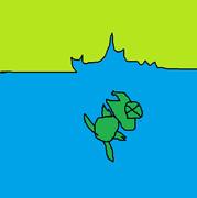 溺れるワギャン
